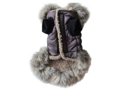 Brown Fir Dog Coat