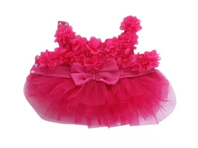 3D Flower Dog Tulle Dress Product Image