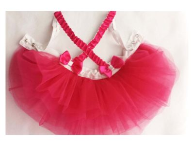 Cross Straps Tutu Skirt