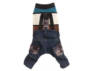 Camouflage Dog Jeans and Sweater Set Product Image